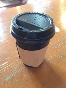 a take away cup