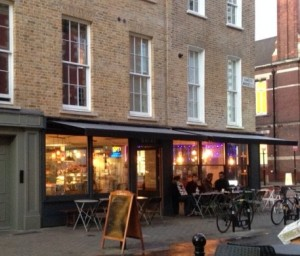 exterior of Briki coffee London