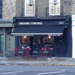 Ground Control, outside the cafe