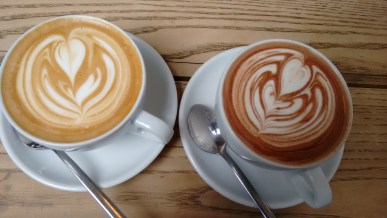 latte art, hot chocolate art, soya art