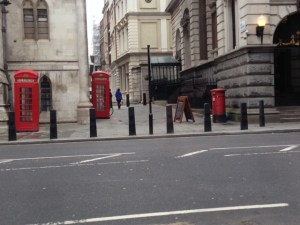 K2 phone boxes and a post box