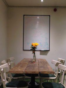whiteboard, Brickwood, Clapham
