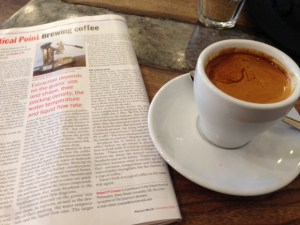 Coffee at Artisan East Sheen