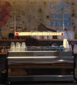 order detector oscillation espresso machine