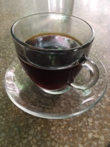 filter, Brazilian or Guatemalan, V60, rainbow, glass, Coleman Coffee, Lower Marsh, Waterloo