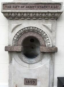 Lavoisier, drinking fountain, Bermondsey