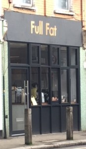 exterior of Full Fat Balham