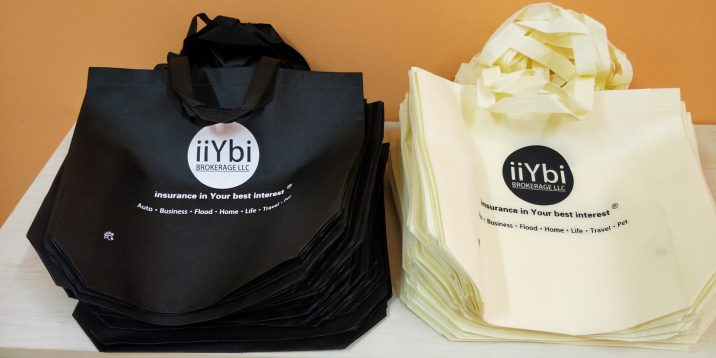 custom iiYbi tote bags