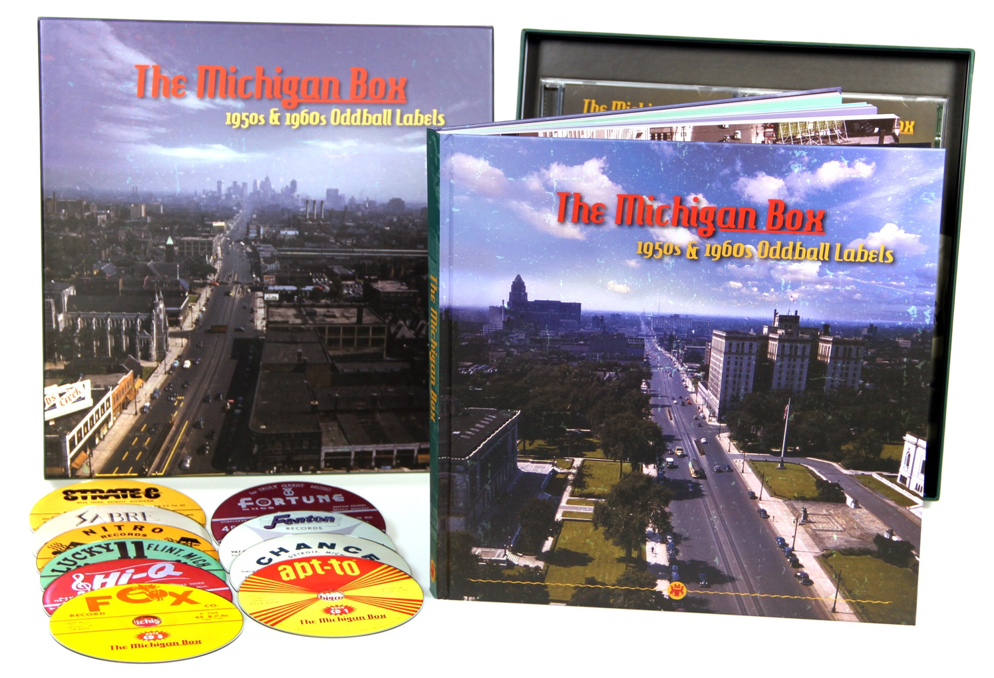 hight resolution of  preview the michigan box 1950s 1960s oddball labels 10 cd box