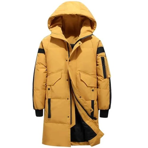 Bearboxers Mens Fashion Padded Parka Coat - Bearboxers Menswear