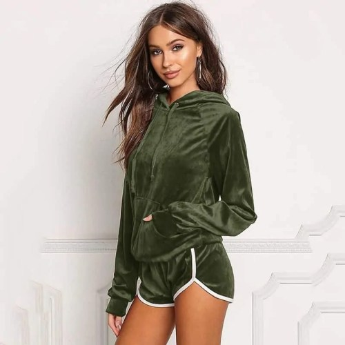 Bearboxers Women's Hoodie and Short Set