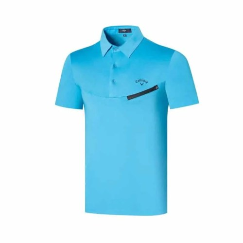 Bearboxers mens Callaway Short Sleeve Wicker Polo Shirt