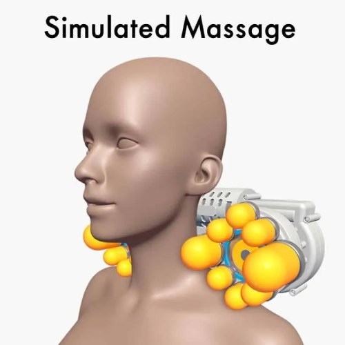 Neck Waist Whole Body Automatic Massage Pillow