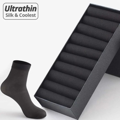 Breathable Ultra-thin Bamboo Socks 10Pairs