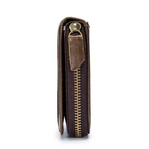 Bull Captain RFID Antimagnetic Vintage Genuine Leather Wallet