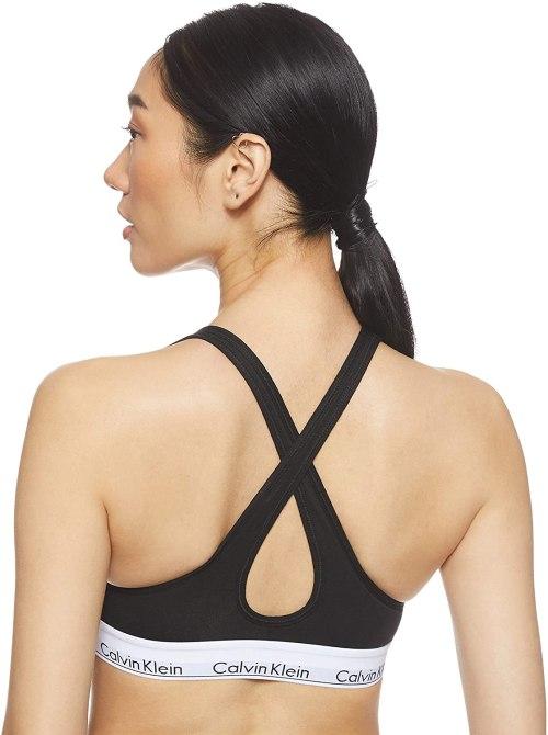 Calvin Klein Women's Bralette Lift Triangle Bra