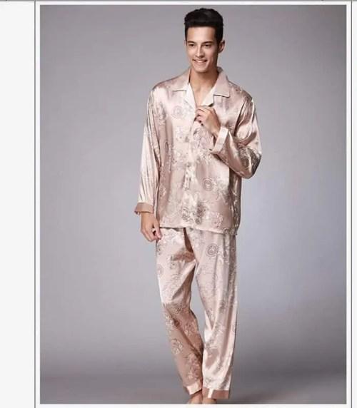 Bearboxers Long Sleeve Mens Luxury Pyjama Set