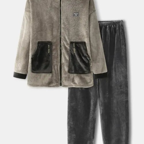 Bearboxers Vintage Warm Two-Piece pyjama Set