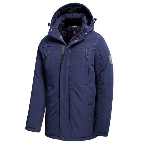 Bearboxers Thick Fleece Hooded Waterproof Parka Coat
