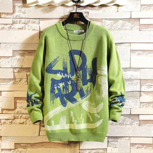 BearboxersLance Donovan Knitted Sweater Green