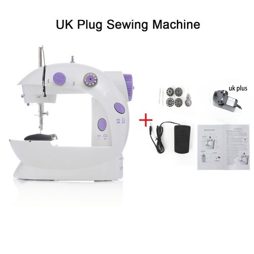 Portable Mini Electric Household Sewing Machine with Foot Pedal