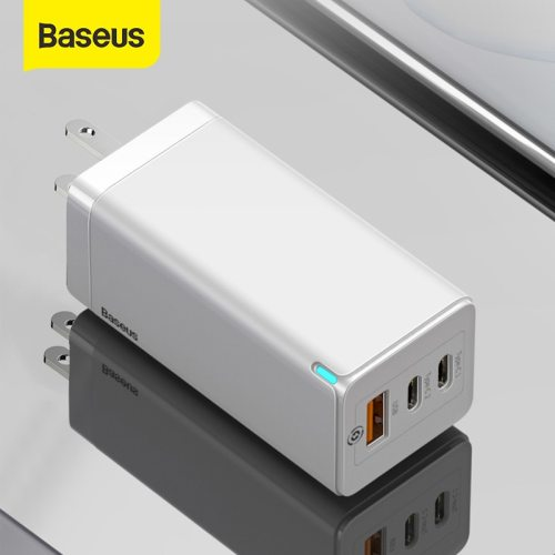 Baseus 65W USB Portable Fast Charger For iPhone 12 Samsung S10