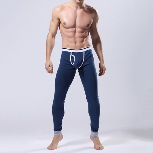 Cashmere 6 Color Men Warm High Elasitc Pants Thicker U-shaped Bag Design Thermal Underwear