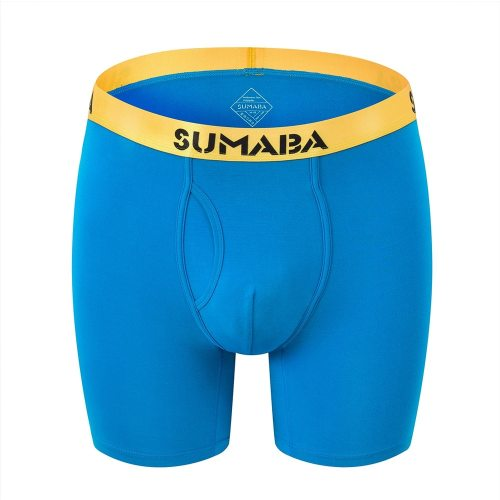 Bearboxers Sumaba Men's Tall and Mighty Extra Long Bamboo Boxer Shorts