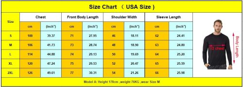 Merino Wool Long Sleeve T-Shirt Wicking Breathable Anti-Odour
