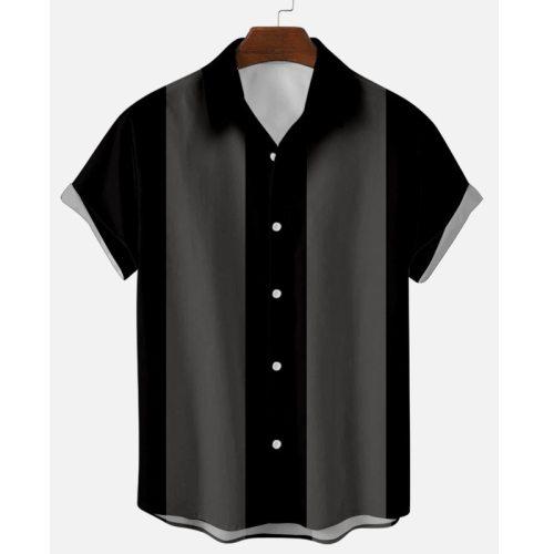 Hawaiian Shirt Men 2021 Short Sleeve Streetwear