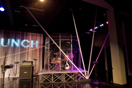 Victory Church: Launch stage design, right burst