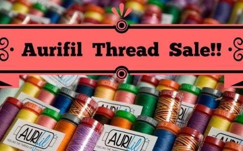 Aurifil Thread Sale
