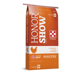Honor Show Chow for Poultry