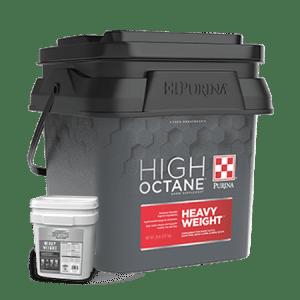 Purina High Octane heavy weight topdress tub