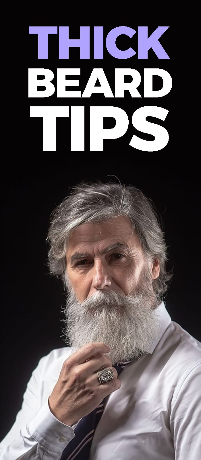 Tips For Thick Beard.