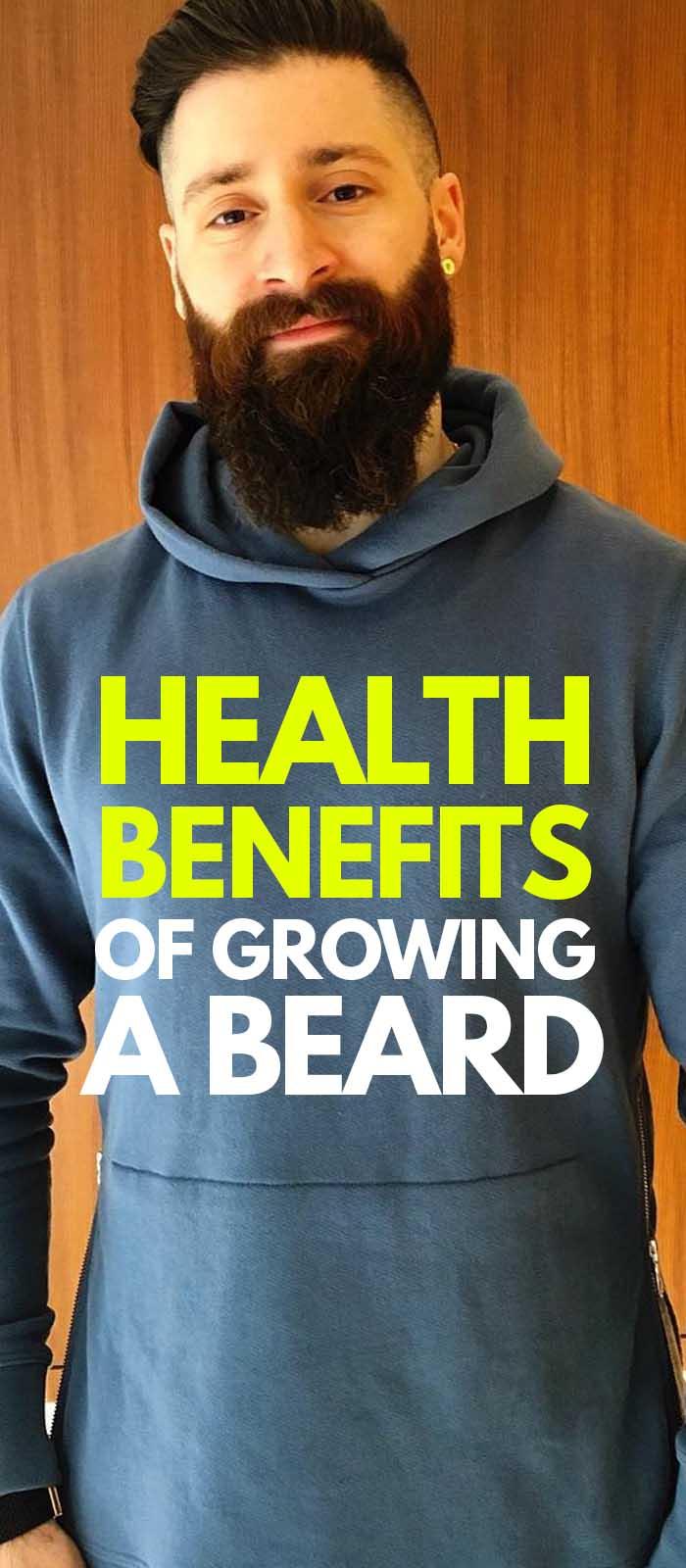Benefits Of Growing A Beard.