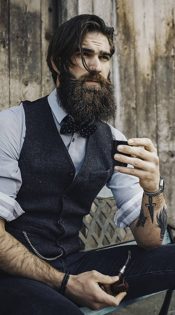 Rugged Man To Office Man Professional Beard Styles