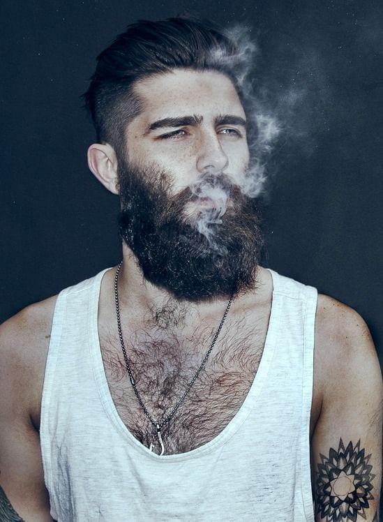 beard beast look