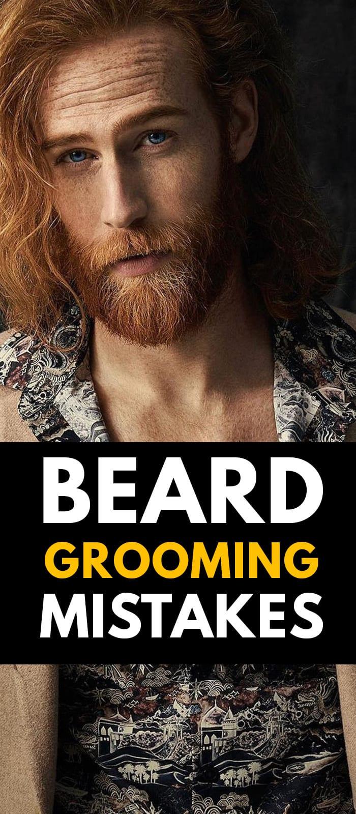 3 Beard Growing Mistakes