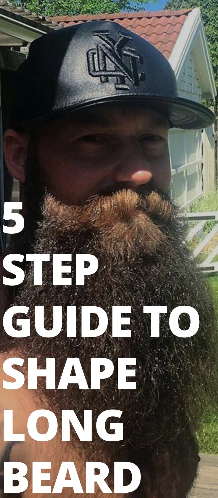 5 Step Guide To Shape Long Beard