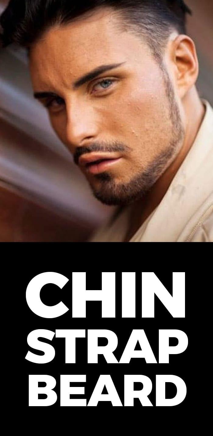 Chin Strap Beard Style.