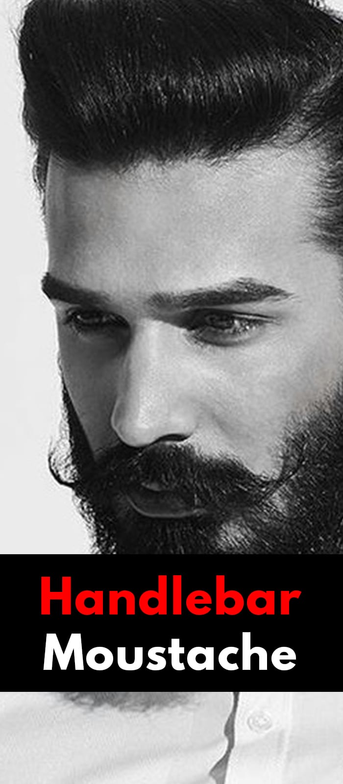 Handlebar Moustache For Men