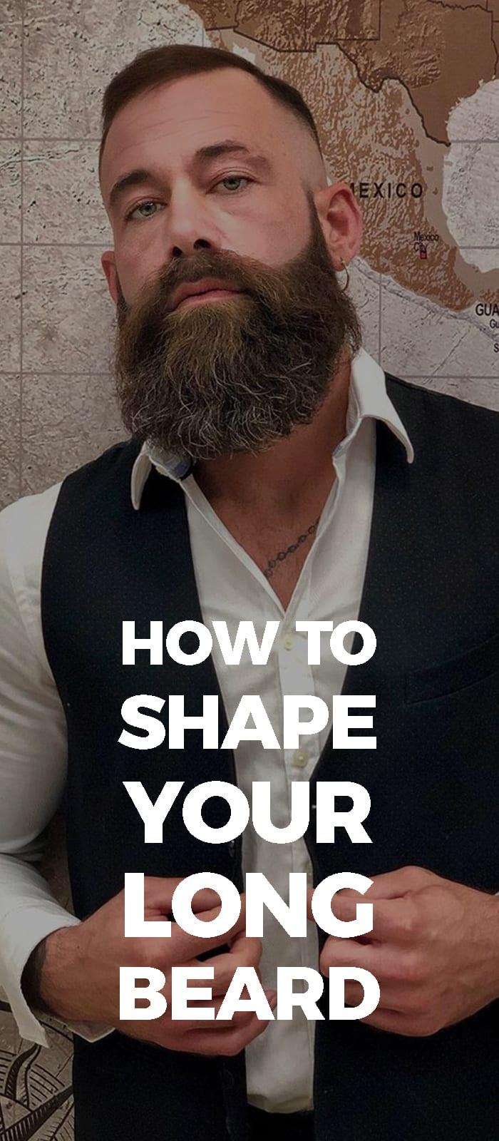 Long Beard Style.
