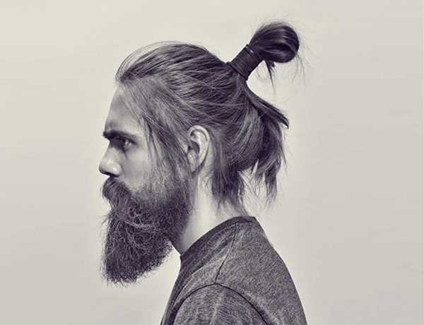 Long beard shaping guide