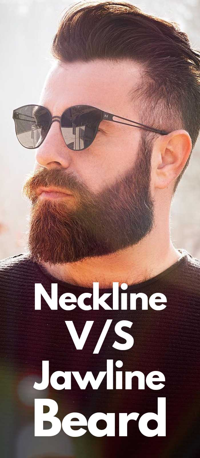 Neckline Beard VS Jawline Beard