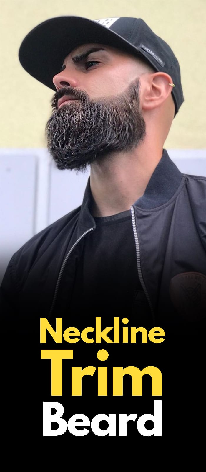 Neckline Trim Beards