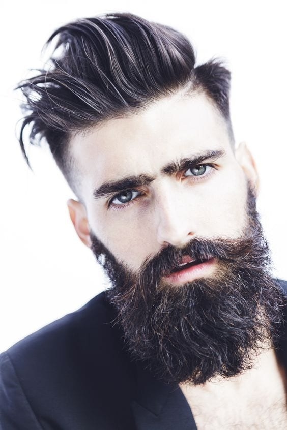 grow thick beard with style