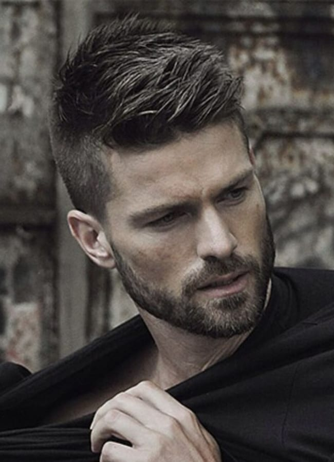 short-stubble-for-spike-hairstyle