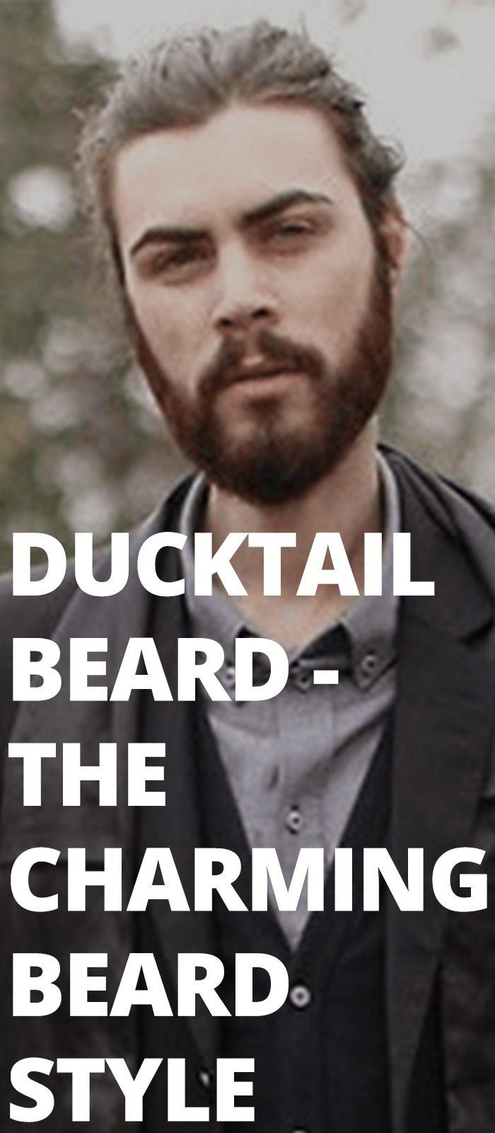 Ducktail Beard - The Charming Beard Style