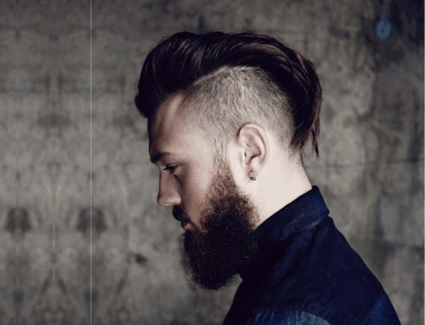 10 Funky And Short Faux Hawk Hairstyle – Beard Look Book!